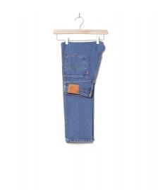 Levis Levis W Jeans 501 Crop blue jive stonewash