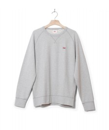 Levis Levis Sweater Original Hm Icon Crew grey medium heather