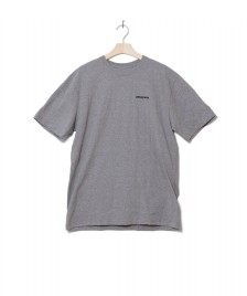 Patagonia Patagonia T-Shirt P-6 Logo grey gravel heather
