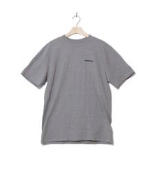 Patagonia Patagonia T-Shirt P-6 Logo grey gravel heather