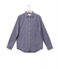 Portuguese Flannel Portuguese Flannel Shirt Espiga blue