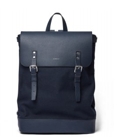 Sandqvist Sandqvist Backpack Hege blue navy w. blue