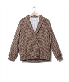 Sessun Sessun W Jacket Alma brown bluefox