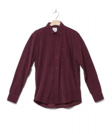 Klitmoller Collective Klitmoller Shirt Benjamin Cord red bordeaux