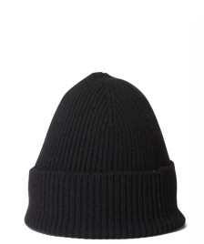 Colorful Standard Colorful Standard Beanie Merino Wool black deep