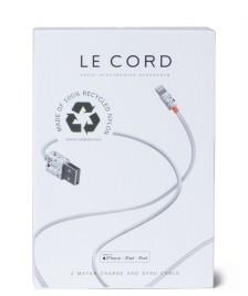 Le Cord Le Cord Charge & Sync Cable Terrazzo grey multi color