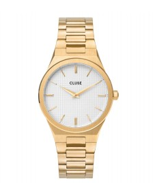 Cluse Cluse Watch Vigoureux 33 H-Link gold/snow white gold