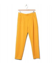 Minimum Minimum W Pants Sofja yellow sunflower