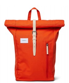 Sandqvist Sandqvist Backpack Dante orange poppy red