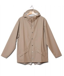 Rains Rains Rainjacket Short beige