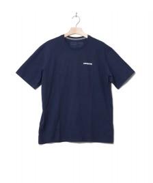 Patagonia Patagonia T-Shirt P-6 Logo blue classic navy
