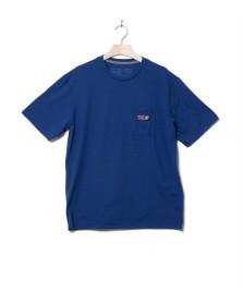 Patagonia Patagonia T-Shirt Boardshort Label blue superior