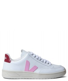 Veja Veja W Shoes V-12 Leather white guimauve marsala