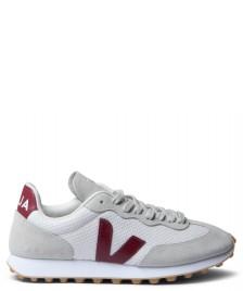 Veja Veja Shoes Rio-Branco Hexamesh grey gravel marsala