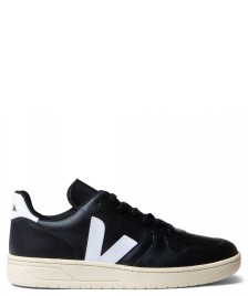 Veja Veja Shoes V-10 Vegan (C.W.L) black white butter sole