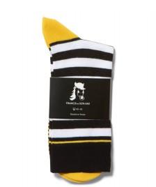 Francis et Son Ami Francis et Son Ami Socks Kollino black/white/yellow