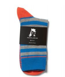 Francis et Son Ami Francis et Son Ami Socks Klebert blue/red