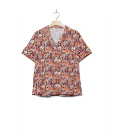 Wemoto Wemoto W Shirt Scotts Printed orange navy blue-red