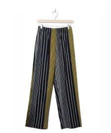Wemoto Wemoto W Pants Beth Printed black-yellow