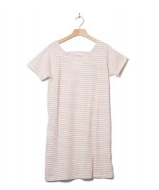 Wemoto Wemoto W Dress Loner Stripe white off-red