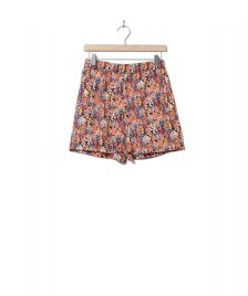 Wemoto Wemoto W Shorts Hyder Printed orange navy blue-red