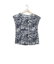 Wemoto Wemoto W Top Melvin Printed blue navy-off white