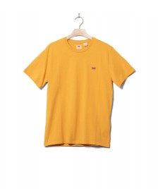 Levis Levis T-Shirt Original Hm yellow golden apricot