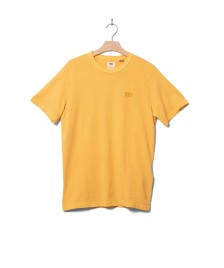 Levis Levis T-Shirt Authentic Crewneck yellow golden apricot