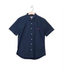 Levis Levis Shirt S/S Battery Hm Slim blue dress blues x