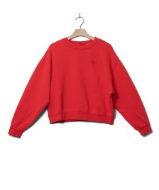 Levis Levis W Sweater Diana Crewneck red ultra soft tomato garment dye