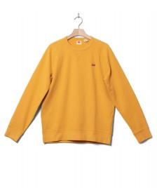 Levis Levis Sweater Original Hm Icon Crew yellow golden apricot