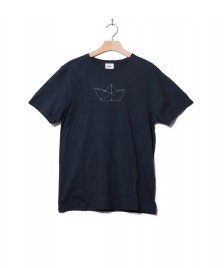 Klitmoller Collective Klitmoller T-Shirt Birk the boat blue navy