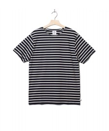 Klitmoller Collective Klitmoller T-Shirt Albert blue navy/cream