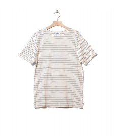 Klitmoller Collective Klitmoller T-Shirt Tom white cream/navy