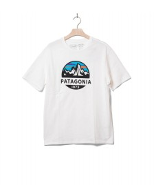 Patagonia Patagonia T-Shirt Fitz Roy Scope white