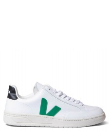 Veja Veja Shoes V-12 Leather white extra emeraude black