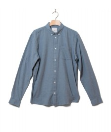 Minimum Minimum Shirt Jay 2.0 bluestone melange