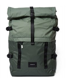 Sandqvist Sandqvist Backpack Bernt LW green multi dusty