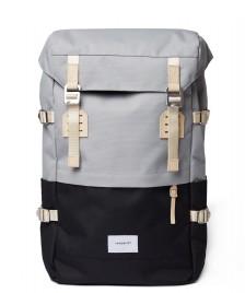Sandqvist Sandqvist Backpack Harald grey multi/black
