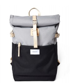 Sandqvist Sandqvist Backpack Ilon grey multi/black