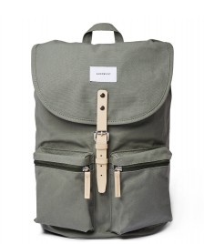 Sandqvist Sandqvist Backpack Roald green dusty