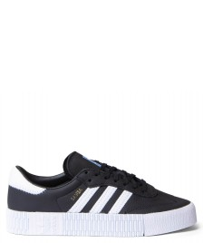 adidas Originals Adidas W Shoes Sambarose black core/cloud white/blue bird