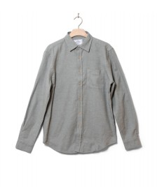 Portuguese Flannel Portuguese Flannel Shirt Teca grey light