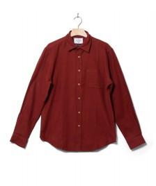 Portuguese Flannel Portuguese Flannel Shirt Teca red merlot
