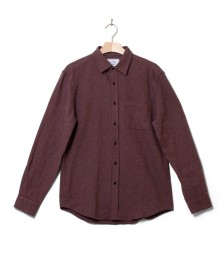 Portuguese Flannel Portuguese Flannel Shirt Rude red bordeaux