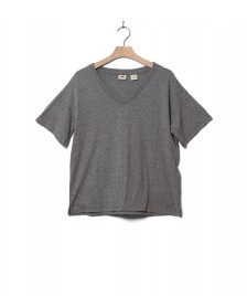Levis Levis W T-Shirt Good Times V-Neck grey smokestack heather