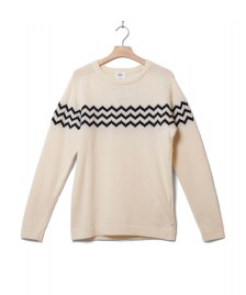 Klitmoller Collective Klitmoller Knit Toke beige cream/navy