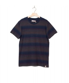 Revolution (RVLT) Revolution T-Shirt 1196 Striped blue navy