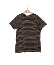 Revolution (RVLT) Revolution T-Shirt 1197 Striped brown