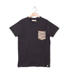 Revolution (RVLT) Revolution T-Shirt 1205 Contrast grey dark